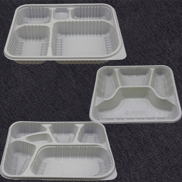 4,6,7 Compartment Food Containers