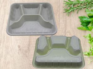 4 Compartment Takeaway Food Containers