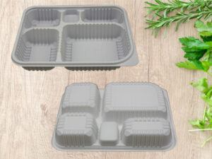 5 Compartment Takeaway Food Container