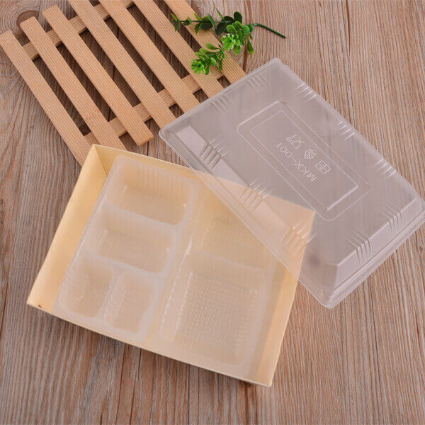 Rectangular Wooden Box With Lid
