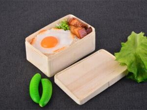 Takeout Lunch Box, Poplar material